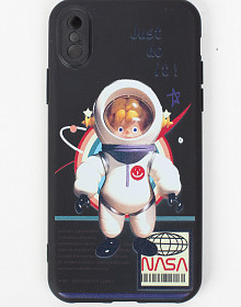 Чехол на iPhone X/Xs - NASA